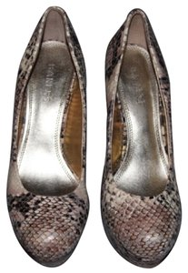 Bakers Snakeskin Platforms