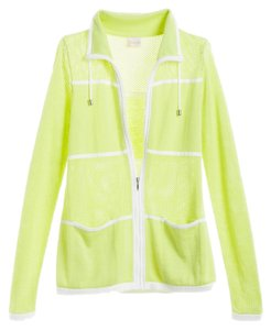 Chico's Zenergy Soft Lime Jacket