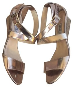 Jimmy Choo Bronze/Gold Sandals