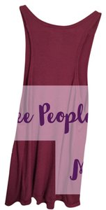 Free People Top Purple/magenta