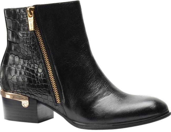 Isola Black Leather Boots/Booties Size US 6 Regular (M, B) Isola Black Leather Boots/Booties Size US 6 Regular (M, B) Image 1