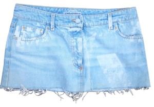 Dolce&Gabbana Mini Skirt denim blue