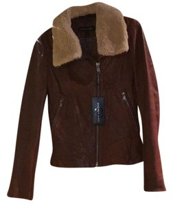Andrew Marc nutmeg Leather Jacket