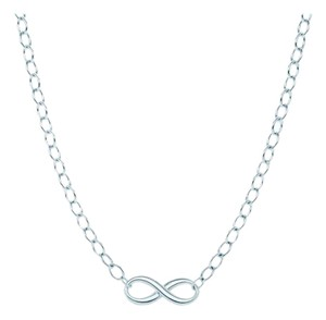 Tiffany & Co. Tiffany silver infinity necklace