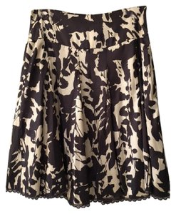 Apostrophe Skirt Brown/Tan