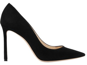 Jimmy Choo Suede Romy black Pumps