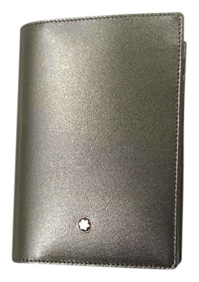 Montblanc MONTBLANC MEISTERSTUCK POCKET NOTE BOOK BUSINESS CARD PEN ...