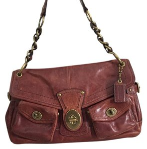 Coach Vachetta Satchel in Whiskey