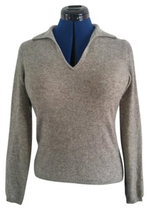 Charter Club Cashmere 100% Cashmere Collar Sweater