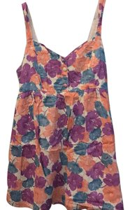 Topshop short dress blue purple orange on Tradesy