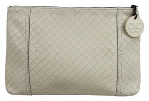 Bottega Veneta Off White Clutch