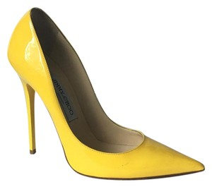 Jimmy Choo Chanel So Kate Yellow Pumps