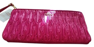 Coach Wristlet in Shocking Pink