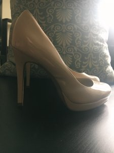 ALDO Nude Heel Stiletto Taupe Bone Pumps