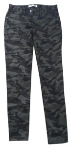 No Boundaries Camo Camoflage Green Leggings