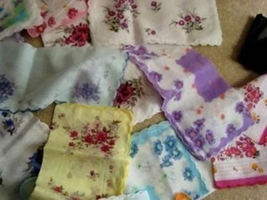 Preload https://item5.tradesy.com/images/multiple-colors-and-patterns-vintage-mismatched-handkerchiefs-tablecloth-204179-0-0.jpg?width=440&height=440