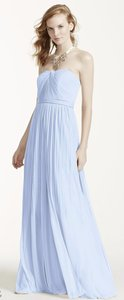 David's Bridal Ice Blue Versa Dress