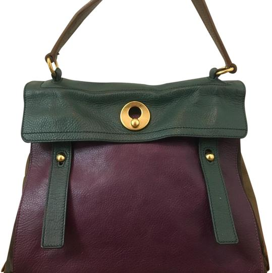 Preload https://img-static.tradesy.com/item/20418055/saint-laurent-muse-two-ysl-multicolor-forest-green-purple-tan-leather-satchel-0-1-540-540.jpg