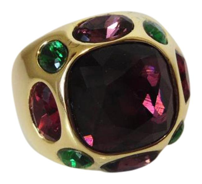 Real Collectibles by Adrienne Goldtone Dome 9 Ring Real Collectibles by Adrienne Goldtone Dome 9 Ring Image 1