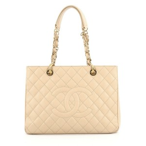 Chanel Caviar Tote in Nude