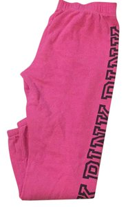 PINK Relaxed Pants Pink & Black