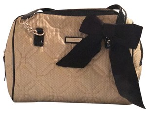 Kate Spade Satchel in Natural with Black trim