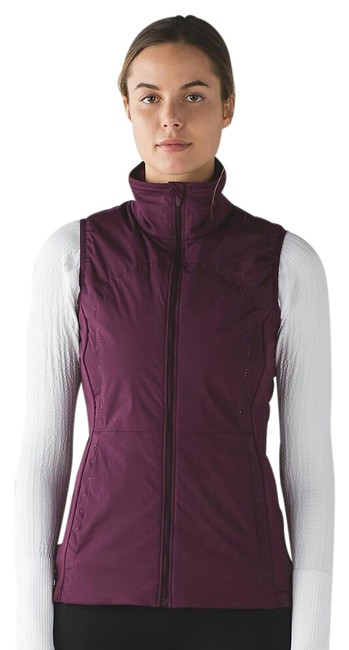 Item - Plum Ships Next Day - Run For Cold Vest Size 6 (S)
