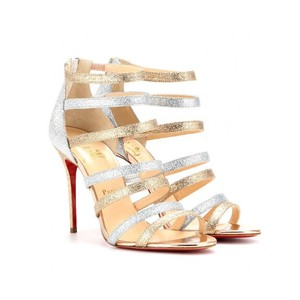 Christian Louboutin Gold and silver Formal