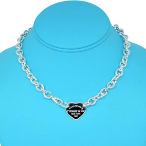 Tiffany & Co. GORGEOUS Return To Tiffany Heart Tag Necklace