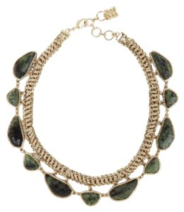 BCBGMAXAZRIA Bcbgmaxazria Green stone Necklace