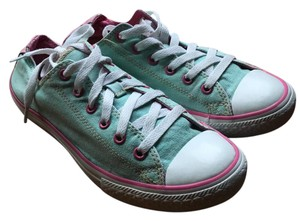 Converse Mint Green and Baby Pink Flats