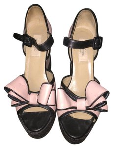 Valentino Blush Wedges