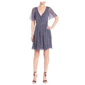 Diane von Furstenberg F Dvf Katina Spotted Silk Dress