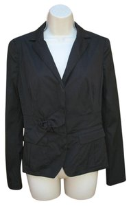 Prada Lightweight Cotton Black Blazer