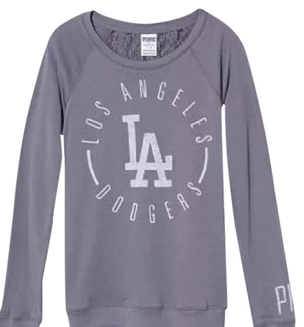 Preload https://img-static.tradesy.com/item/20418623/victoria-s-secret-pink-los-angeles-mlb-lace-back-boyfriend-crew-extra-small-sweater-0-1-650-650.jpg