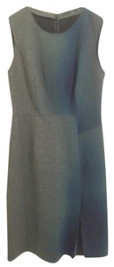 Elie Tahari short dress Gray Blue Green on Tradesy
