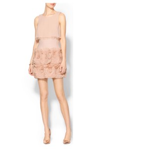 BCBGMAXAZRIA Alai Tiered-ruffle Skirt Dress