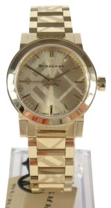 Burberry Women's Swiss Gold Ion-Plated Stainless Steel Bracelet 26mm BU9234