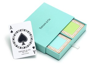 Tiffany & Co. Tiffany & Co. Vintage Double Deck Playing Cards