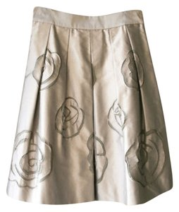 INC International Concepts Skirt Silver