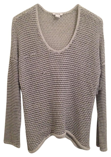 Preload https://img-static.tradesy.com/item/20418982/helmut-lang-black-cream-open-weave-sweaterpullover-size-12-l-0-1-650-650.jpg