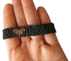 Chan Luu Beaded Heart Shaped Bracelet