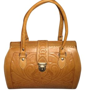 Other Tooled Vintage Satchel in brown