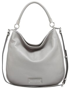 Marc by Marc Jacobs Too Handle Pebbled Leather Hobo Bag