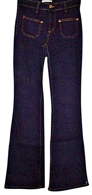 Preload https://img-static.tradesy.com/item/20419258/forever-21-blue-dark-rinse-wash-stretch-juniors-flare-leg-jeans-size-25-2-xs-0-2-650-650.jpg