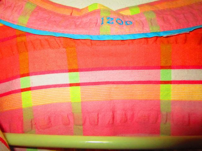 Izod Top Peach/multi colors