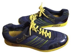 Coach Blue/Yellow/Lime Athletic