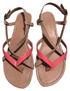 Madden Girl Strappy Nude hot pink/nude Sandals