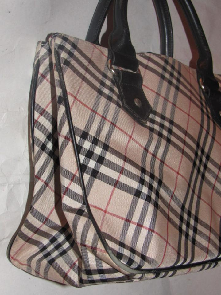 c85bb6ae8a23 Burberry Mint Vintage Lots Of Pockets Early Looks Unused Lining Satchel in black  leather Nova. 123456789101112