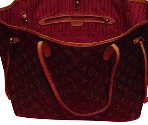 Louis Vuitton Neverfull Gm Cherry Monogram Lv Tote in Brown Cherry